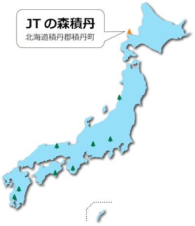 JTの森の地図