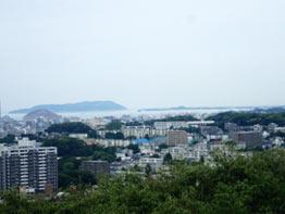 展望台から見た福岡市