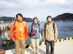 左から犬塚さん、中野さん、宮城さん