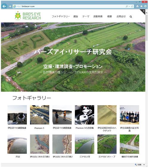 バーズアイ・リサーチ研究会ウェブサイト