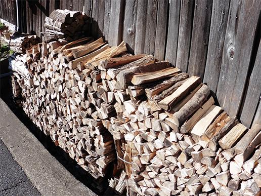 薪-森が育む大地の恵み。