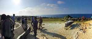 ちいかん創立35周年記念で沖縄へ社員旅行、眺めがとても良い♪