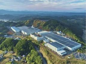 太陽光発電システムの導入事例 (ソーラーフロンティア 国富工場)